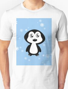 Penguin Blue Unisex T-Shirt