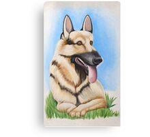It's Always Sunny in Philadelphia Shepherd Painting Canvas Print