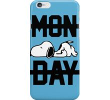 Snoopy Lazy Monday iPhone Case/Skin