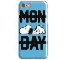 Snoopy Lazy Monday iPhone Case/Skin