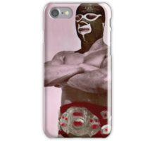 Luchador enmascarado iPhone Case/Skin