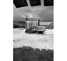 Clouds in Bodie Photographic Print