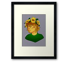 Flower Crown Pidge Gunderson - Voltron Framed Print