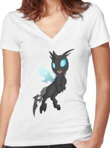 Changeling Women's Fitted V-Neck T-Shirt
