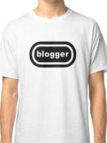 Blogger (black print) Classic T-Shirt