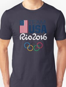 TEAM USA Olimpics RIO Unisex T-Shirt
