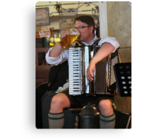 Music at the Hofbrauhaus  Canvas Print