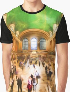 Grand Central Rush     (GO2) Graphic T-Shirt