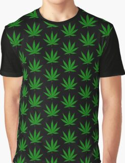 Funny marijuana leaf Graphic T-Shirt