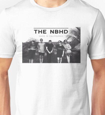 "The Neighbourhood NBHD ""MADE IN CALIFOURNIA"" WIDE FIT For Tee's and Posters Unisex T-Shirt"