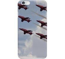Red Arrows Aviation display team iPhone Case/Skin