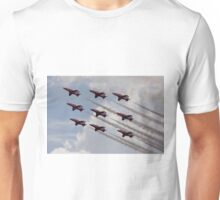 Red Arrows Aviation display team Unisex T-Shirt