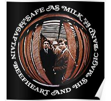 Captain Beefheart Safe As Milk Poster