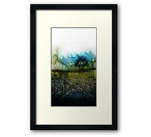 The Green Tree  Framed Print
