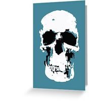Sherlock Skull Wall Hanging Greeting Card