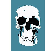 Sherlock Skull Wall Hanging Photographic Print