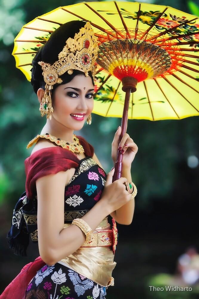 Balinese Woman by Theo Widharto