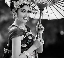Balinese Dancer by Theo Widharto