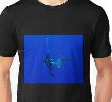 Formal Introductions With An Oceanic White Tip Shark Unisex T-Shirt