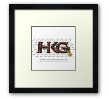 Rock Out with Hard Knock Gamers (with Print Behind Logo) Framed Print