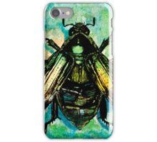 Scarab Beetle Watercolor iPhone Case/Skin