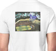 BLUE PONY CORRAL, HAVRE, MONTANA Unisex T-Shirt