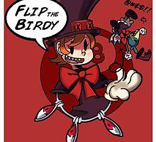 Skullgirls(Peacock)-Flip the Birdie by VisualDiscord