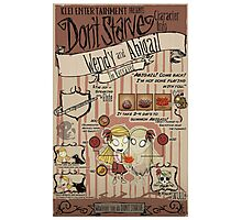 Don't Starve- Wendy and Abigail Photographic Print