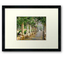 The Arab Gardens Of Alfabia.....................................Majorca Framed Print