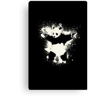 Bansky Panda Canvas Print