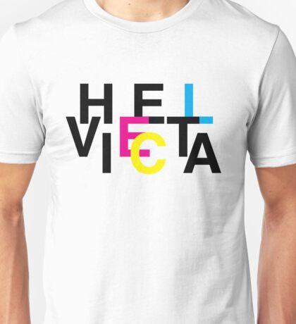 Helvetica & CMYK Unisex T-Shirt