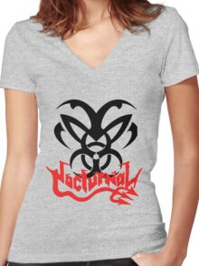 Nocturnal 2 Women's Fitted V-Neck T-Shirt