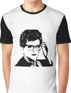 Jessica Fletcher Print  Graphic T-Shirt