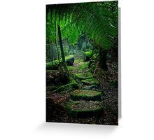 Mother Earth - Tarkine Rainforest Greeting Card
