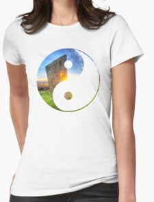 Yang_of_Gaia_10 Womens Fitted T-Shirt