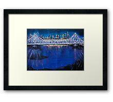 City Livin' Framed Print
