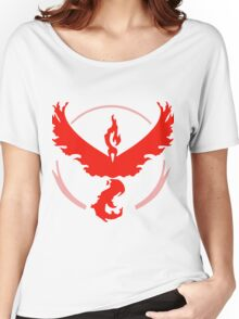 Team Valor Pokemon GO! Women's Relaxed Fit T-Shirt