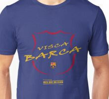 VISCA BARCA, BARCELONA Unisex T-Shirt