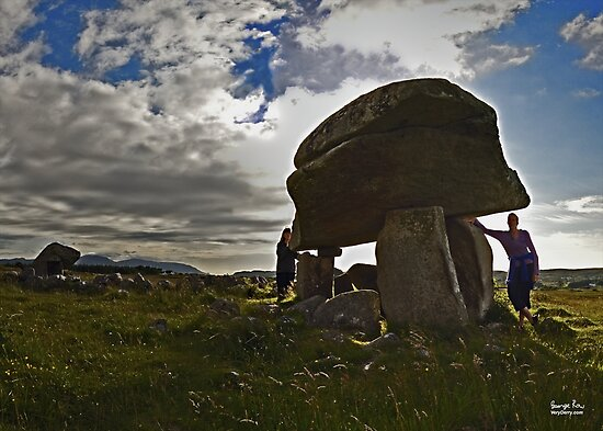 Kilclooney Dolmen, County Donegal by George Row