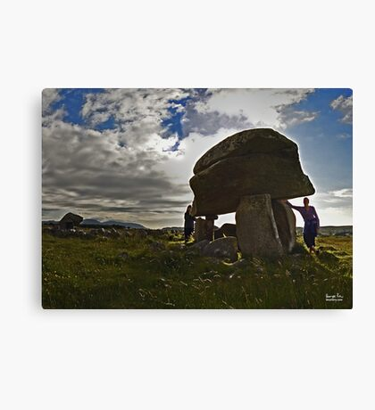 Kilclooney Dolmen, County Donegal Canvas Print