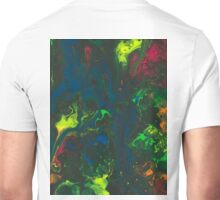 Blacklight Flow - Acrylic Painting Art Unisex T-Shirt