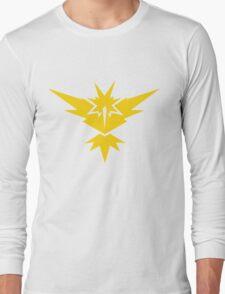 Team Instinct Pokemon GO! Long Sleeve T-Shirt