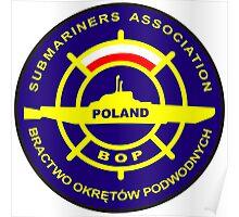 Submariners Association - Poland Poster