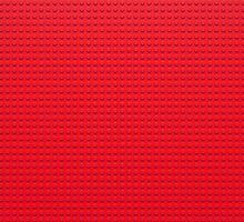 Building Block Brick Texture - Red by graphix