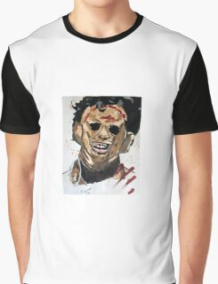 Classic Horror Movie Leatherface Texas Chainsaw Massacre Graphic T-Shirt