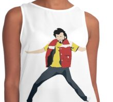 Flight of the Conchords - Bret's Angry Dance Contrast Tank