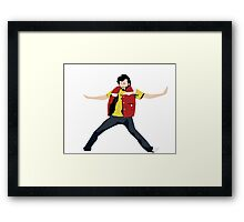 Flight of the Conchords - Bret's Angry Dance Framed Print