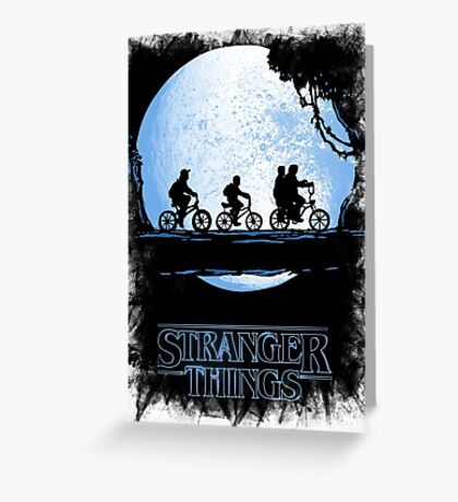 Stranger Things  Greeting Card