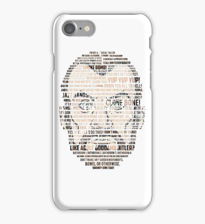 Krieger Quotes (Archer) iPhone Case/Skin