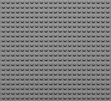 Building Block Brick Texture - Gray by graphix